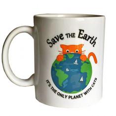Cana cu Pisica – Salveaza Pamantul, este singura planeta cu pisici