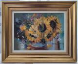 Tablou, Dan Avram , Floarea soarelui, u/p 2015