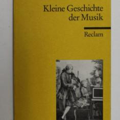 KLEINE GESCHICHTE DER MUSIK von MICHAEL HEINEMANN , 2004