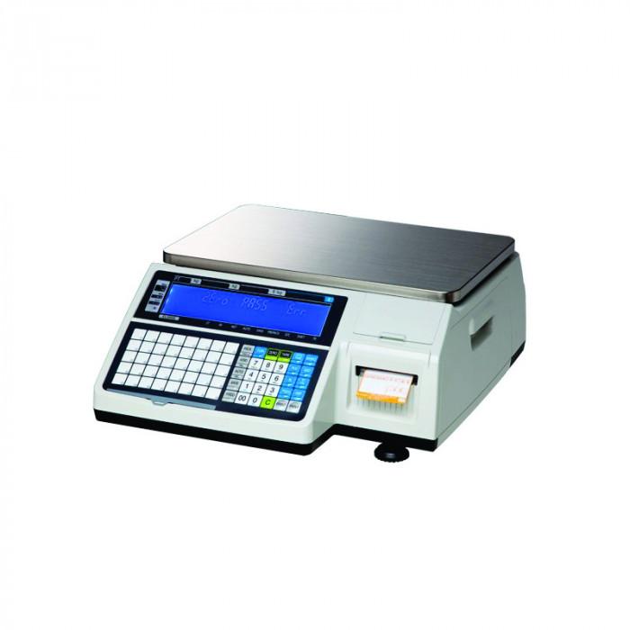 Cantar cu imprimanta de etichete Cas CL5200-B 6/15 kg