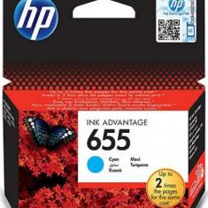 Cartus cerneala HP 655 (Cyan)