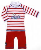 Costum de baie SeaLife red marime 86- 92 protectie UV Swimpy for Your BabyKids