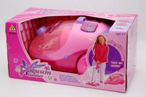 Aspirator mare de jucarie pentru copii, cu motoras si lumini