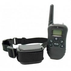 Zgarda 81N Multifunctionala Reincarcabila cu Telecomanda 100m Distanta pentru Antrenat, Anti-latrat Caini foto
