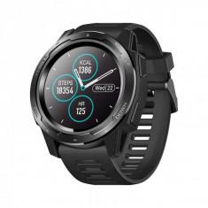 Ceas Smartwatch ZEBLAZE VIBE 5 bluetooth 4.0, IP67 5ATM waterproof, cu HR si multisport tracking, negru