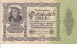 GERMANIA 50.000 marci 1922 F+/VF-!!!