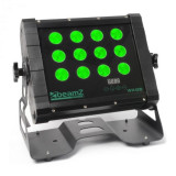 Beamz WH128 Wall Washerde 12 x 8W Quad LED-uri IP65 DMX