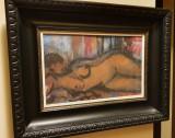 Nud semnat Ferenczy Bela