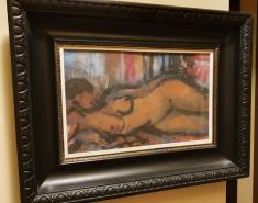 Nud semnat Ferenczy Bela foto