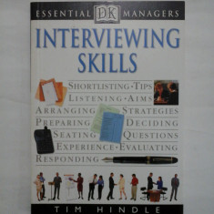 INTERVIEWING SKILLS - TIM HINDLE
