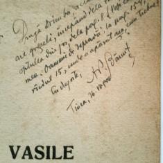 Autograf BANUT: A.P.Banut, MITROPOLITUL VASILE, extras din ,,Tara Barsei,,