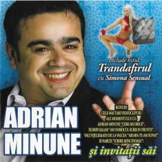 CD Adrian Minune Și Invitații Săi, original, manele