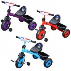 Tricicleta cu pedale, muzica si lumina, Politie