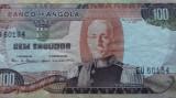 BANCNOTA 100 ESCUDOS 1972-ANGOLA