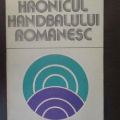Hronicul handbalului romanesc