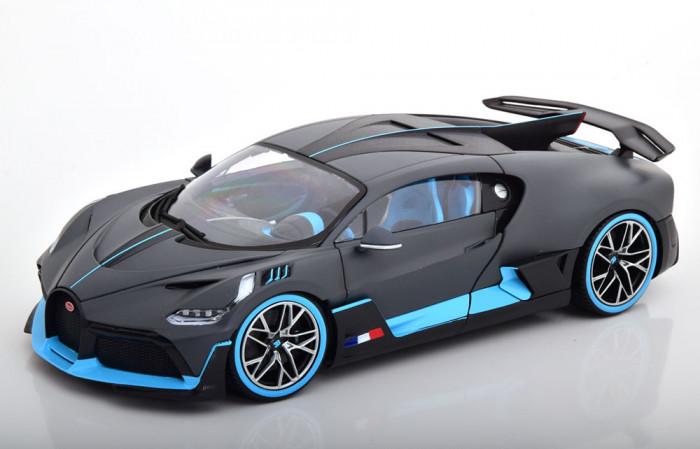 Macheta Bugatti Divo 2018 - Bburago 1/18