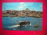 HOPCT 67558 CORNUL DE AUR SI MOSCHEEA SULIMAN-VAPOR-ISTANBUL TURCIA-NECIRCULATA