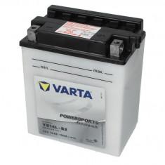 Baterie moto Acid cu intretinere VARTA 12V 14Ah 190A R+ aerisire dreapta 136x91x166 Incarcare uscata cu acid