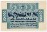 Bancnote rare Germania - 50 000 Marci 1923
