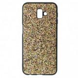 Husa Disco Glitter pentru Samsung Galaxy S10, TPU, Golden Dust