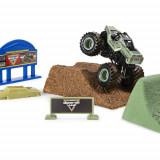 Set de Joaca Camioneta Soldier Fortune cu Nisip Kinetic si Accesorii Monster Jam, Spin Master