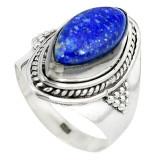 Cumpara ieftin Inel bijuterie din argint 925 cu lapis lazuli