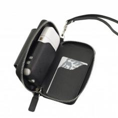 Husa din piele neagra pentru IQOS - GC-3 Black | German Couture