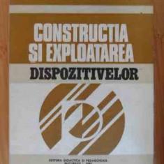 Constructia Si Exploatarea Dispozitivelor - V. Tache I. Ungureanu A. Bragaru N Gojinetchi I. M,536190