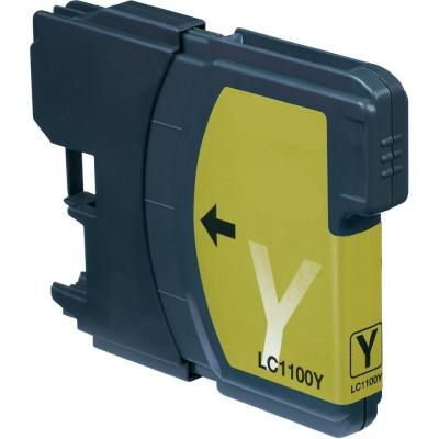 Cartus compatibil pentru Brother LC1100 LC980 LC61 Yellow foto