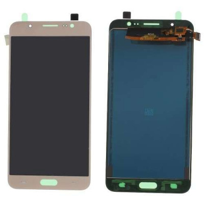 Display Cu Touchscreen Samsung Galaxy J7 J710 2016 Auriu foto