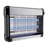 Cumpara ieftin Aparat anti-insecte, lumina UV, 2 x 10 W, carcasa aluminiu, Negru