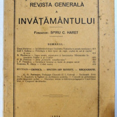 REVISTA GENERALA A INVATAMANTULUI , ANUL XVIII - NO. 8 , OCTOMBRIE , 1930