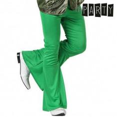 Pantaloni pentru Adulți Disco Verde