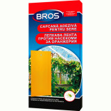 Hartie adeziva anti insecte pentru gradini si sere 10 buc, Bros