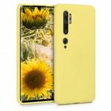 Husa pentru Xiaomi Mi Note 10 / Mi Note 10 Pro, Silicon, Galben, 50948.49