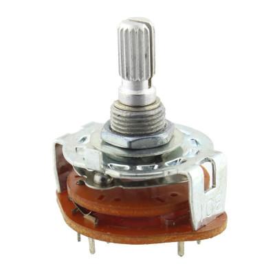 Comutator rotativ, 4 pozitii, 31x37mm - 125520 foto