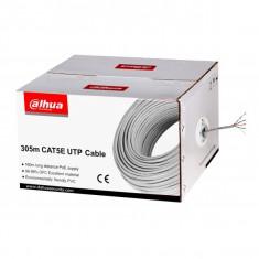 Cablu UTP CAT5E Dahua PFM920I-5EUN, pret / rola 305 m