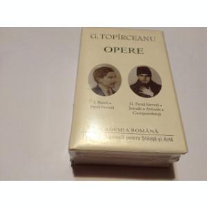 George Topîrceanu. Opere  Poezii, Proză literară. Jurnale, Articole 2 VOLUME