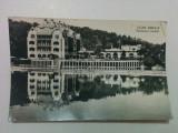 Carte poștală - Ocna Sibiului, Pavilionul Central - circulată, anul 1962