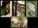 Romania 2013, LP 1984, Pasari rapitoare de noapte, seria, MNH! LP 22,70 lei, Fauna, Nestampilat