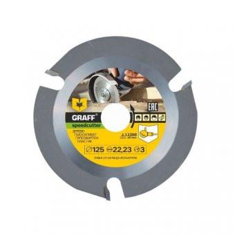 Disc pentru lemn cu pastile, vidia polizor unghiular 125 mm foto
