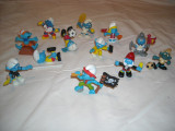 Strumfi, smurfs - 12 figurine medii strumf din cauciuc - set 1