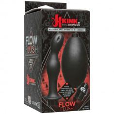 Irigator anal KINK - FLOW FLUSH - SILICON