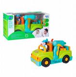 Jucarie interactiva Hola Toys, Camionul cu scule cu lumini si sunete