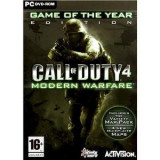 Call of Duty 4 Modern Warfare Game Of The Year PC, Shooting, 18+, Multiplayer, Ubisoft
