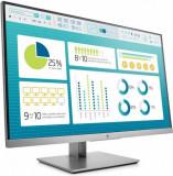 Monitor IPS LED HP EliteDisplay 27inch E273, Full HD (1920 x 1080), VGA, HDMI, USB 3.0, Pivot (Argintiu)