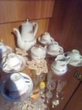 Serviciu/cafea/portelan/