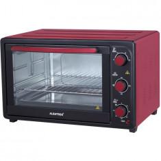 Cuptor electric A45 RED, 45 litri, 1800 W, 230 de grade, Timer, Rosu