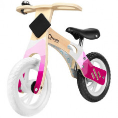 Bicicleta din Lemn fara Pedale Willy Bubblegum