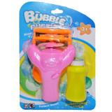 Pistol cu elice + rezerva pentru baloane sapun